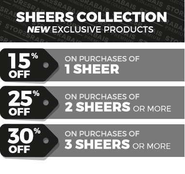 Sheers collection promo