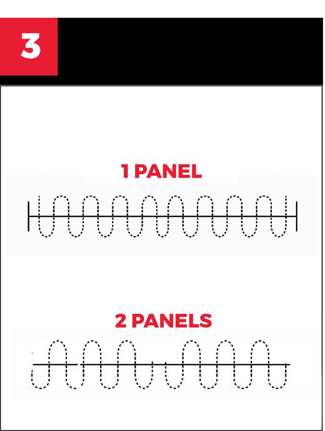 Determine the panels